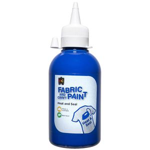 Educational Colours Fabric Craft Paint 250mL Dark Blue