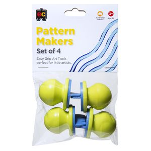 Educational Colours Easy Grip Pattern Makers 4 Pack