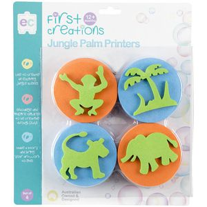 First Creations Jungle Palm Printers Multi-Coloured 4 Pack