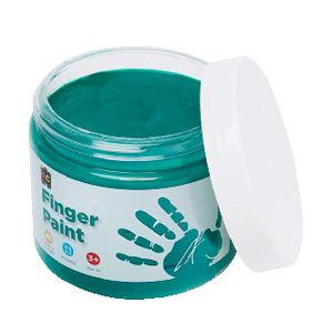 Educational Colours Finger Paint 250mL Green