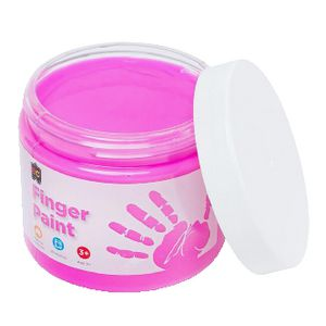 Educational Colours Finger Paint 250mL Pink