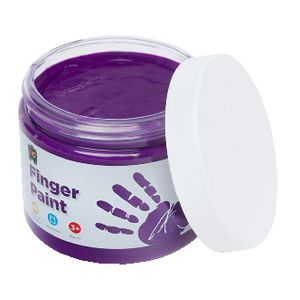 Educational Colours Finger Paint 250mL Purple