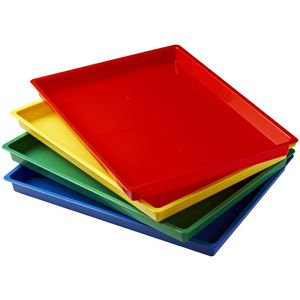 Educational Colours Assorted Art Trays 4 Pack