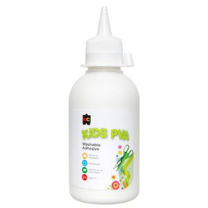 Educational Colours Kids PVA Glue 250mL