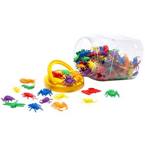 Educational Colours Garden Bug Counters 144 Pack