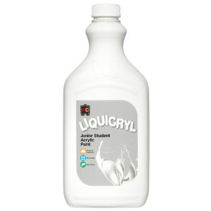 Educational Colours Liquicryl Paint 2L White