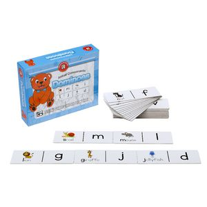 Learning Can Be Fun Initial Consonants Dominoes