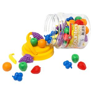 Learning Can Be Fun Fruit Counters 60 Pack