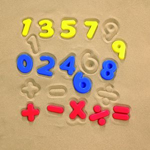Learning Can Be Fun Sandplay Moulded Numbers and Operations