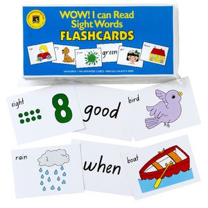Learning Can Be Fun Sight Words Flash Cards