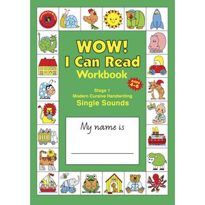 EC I Can Read Handwriting and Reading Stage 1 Workbook