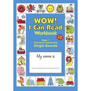 EC I Can Read Handwriting and Reading Foundation Workbook