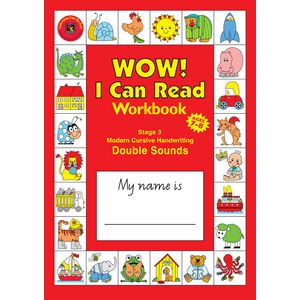 EC I Can Read Handwriting and Reading Stage 3 Workbook