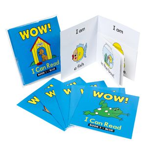 Learning Can Be Fun Wow I Can Read Books Set 1 Blue