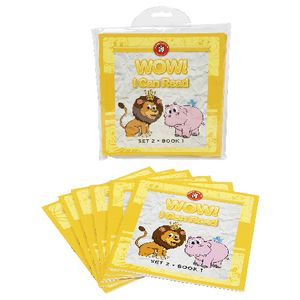 Learning Can Be Fun Wow I Can Read Books Set 2 Yellow