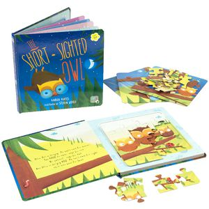 Meadow Kids The Short Sighted Owl Jigsaw Book