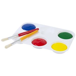 Educational Colours 6 Well Muffin Palette