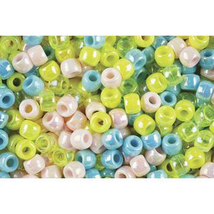 Educational Colours Pony Beads Pearl 1000 Pack