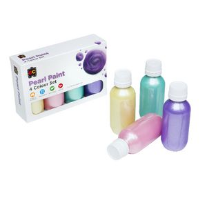 Educational Colours Pearl Paint Set