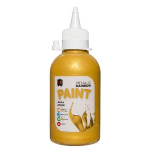 Educational Colours Acrylic Paint 250mL Metallic Gold