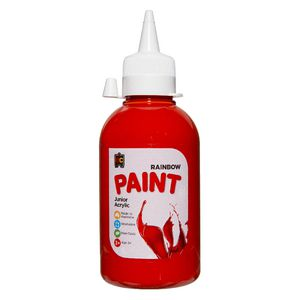 Educational Colours Acrylic Paint 250mL Red