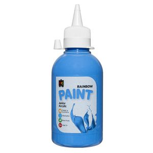Educational Colours Acrylic Paint 250mL Sky Blue