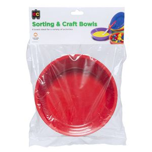 Educational Colours Craft Bowls 6 Pack