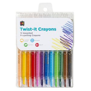 Educational Colours Twist It Crayons