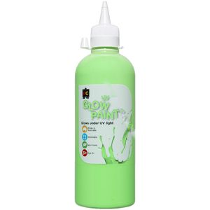 Educational Colours UV Glow Paint 500mL Green