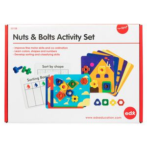 EDX Education Nuts and Bolts Activity Set