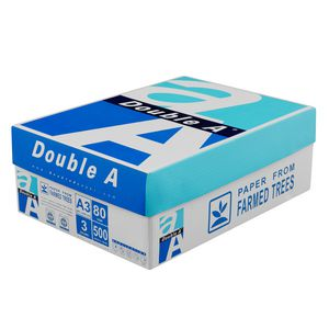 Double A 80gsm A3 Copy Paper 3 Ream Carton