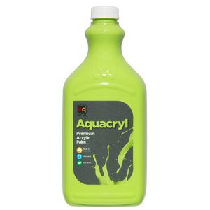 Educational Colours Aquacryl Paint 2L Light Green