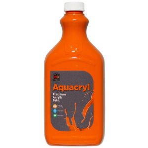 Educational Colours Aquacryl Paint 2L Orange