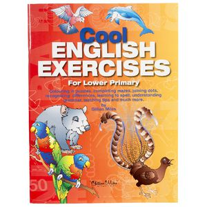 Educational Colours Cool English Exercises Book Lower Primary