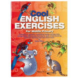 Educational Colours Cool English Exercises Book Mid Primary