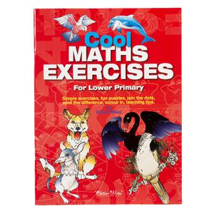 Educational Colours Cool Maths Exercises Book Lower Primary