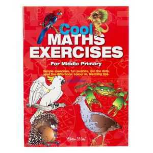 Educational Colours Cool Maths Exercises Book Middle Primary