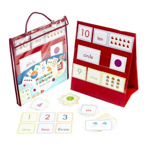 Meadow Kids Numbers and Shapes Pocket Chart