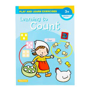 Educational Colours Learning to Count Book 1