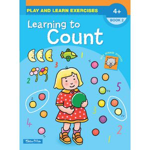 Educational Colours Learning to Count Book 2