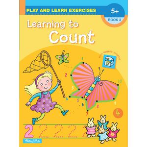 Educational Colours Learning to Count Book 3