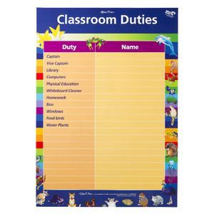 Gillian Miles Classroom Rewards double-sided Chart