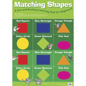 Gillian Miles Matching Shapes Chart