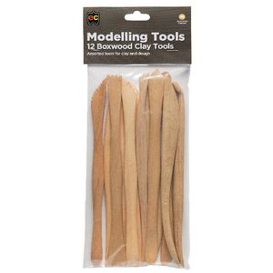 Educational Colours Boxwood Clay Tool Set