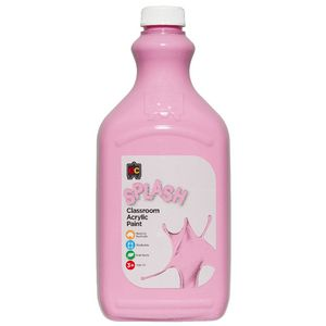 Educational Colours Classroom Splash Paint 2L Cupcake Pink