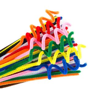 Educational Colours Chenille Sticks 100 Pack