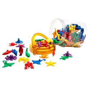Learning Can Be Fun Sea Life Counters 84 Pack