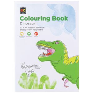 Educational Colours Colouring Book Dinosaurs