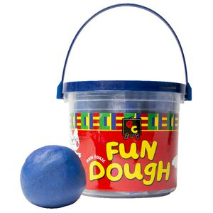 Educational Colours Fun Dough Blue 1.2kg