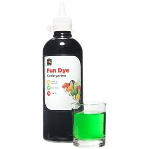 Educational Colours Kindergarten Liquid Fun Dye Green 500mL